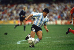 Matches de football de Maradona