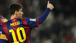 Messi football matches