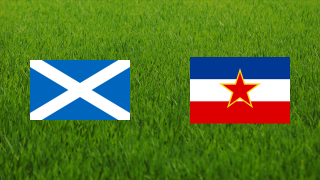 Scotland vs. Yugoslavia