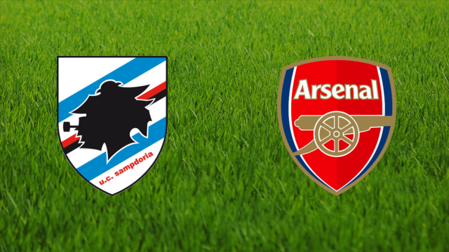 UC Sampdoria vs. Arsenal FC