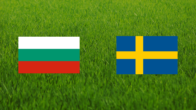 Bulgaria vs. Sweden